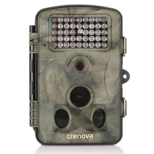 Überwachungskamera mit Bewegungsmelder Crenova Wildkamera