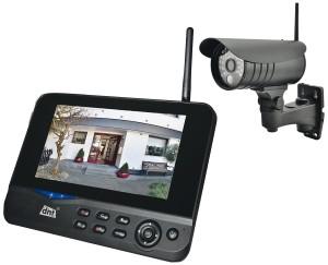 DNT QuattSecure-IP Überwachungskamera Funk