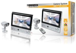 Überwachungskamera mit Monitor, die König cm Zoll LCD-Monitor mit Kamera, SEC-UNIT