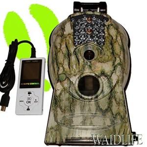 Die getarnte Überwachungskamera Waidlife Waidguard 10 mp HD Jadgkamera mit Fernbedienung
