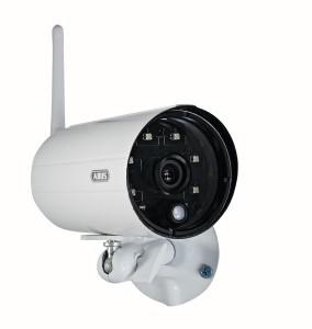 Abus Funkkamera TVAC18010A zur Erweiterung des ABUS Funk-Überwachungsset TVAC18000A, 00345 und als eigenständiges Überwachungskamera Set mit Aufzeichnung