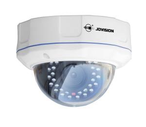 Überwachungskamera mit Aufzeichnung IP Kamera Dome Outdoor, 1 MegaPixel, HD, Außenkamera, Überwachungskamera, Sicherheitskamera, Bewegungserkennung, Email Alarm, Typ: JVS-N3DL-HC