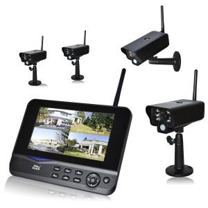 Funk Überwachungskamera Set DNT Quatt Secure Profiset