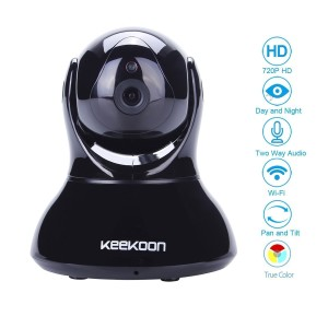 Überwachungskamera mit Bewegungsmelder Keekoon