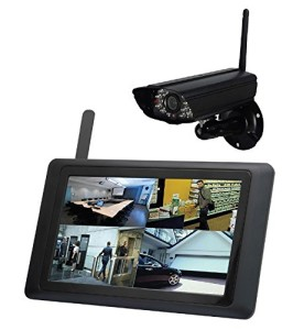 Funkvideo-System - 9 Zoll Touch Echtzeitaufzeichnung - APP iOS Android. Überwachungskamera App