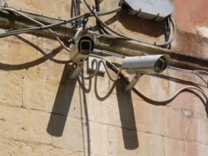 Überwachungskamera mit Bewegungsmelder
