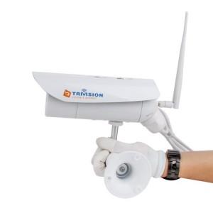 TriVision Outdoor Wasserdicht HD 1080P IR D/N Überwachungskamera außen wlan